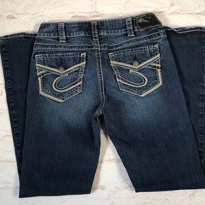 Silver Jeans. Size 30.  Suki Mid Bootcut.